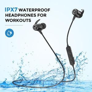 Image 2 - Mpow S11 APTX Bluetooth 5,0 Kopfhörer Magnetische Design IPX7 Wateproof 9H Spielen Zeit CVC 6,0 Noise Reduktion Für Sport smartPhone