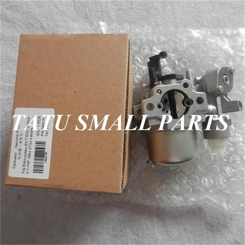 EX17 CARB FOR ROBIN SUBARU EX17D 4 STROKE 6HP CARBURETOR AY GO CART TILLER CARBY PRESURE WASHER  CARBURETTOR carburetor for zenoah g620pu rc g561 g651 g621 g662 6500 62cc 58cc 62 65 chainsaw carburettor carby carb repl walbro hda246