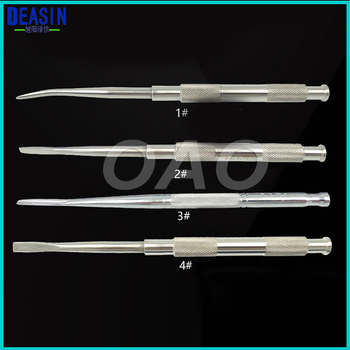 4Pcs Dental Implant Instruments tools Dental Tool Stainless steel dental chisel tooth bone knife bone chisel