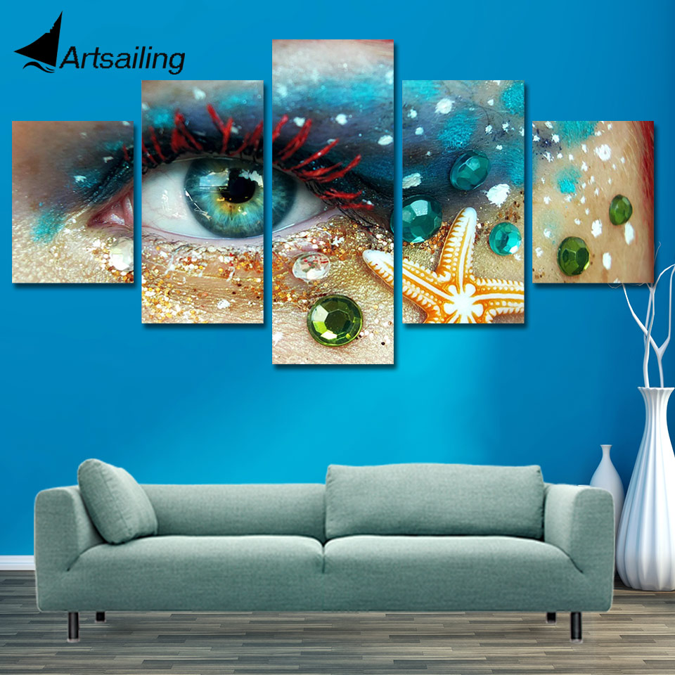 ArtSailing HD Print Painting Hairdressing Salon Pictures