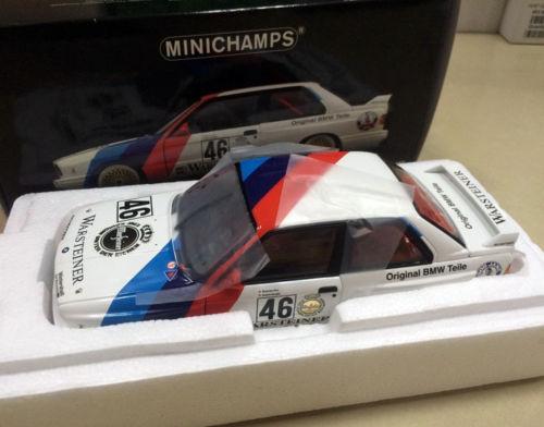 MINICHAMPS 1/18 Scale DieCast Mannequin Automotive – M3 RAVAGLIA/PIRRO CALDER 1987