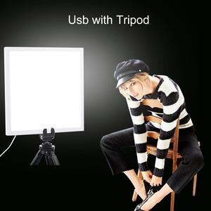 Image 4 - PULUZ Luz LED Mini 22,5 para fotografía, sin sombras, cojín de Panel + 2 paneles LED, caja de luz de 20CM para tienda de estudio fotográfico