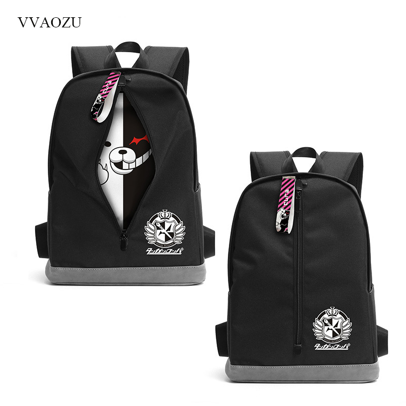 Funny Design Dangan Ronpa Danganronpa Monokuma Corgi Emoji Shoulder Backpack Rucksack Shoulder Bag Travel Schoolbag free shipping cute 4 nendoroid monokuma super dangan ronpa anime pvc acton figure model collection toy 313 mnfg057