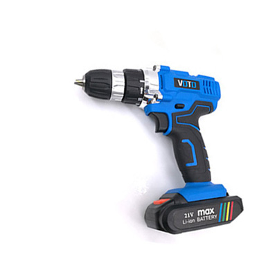 VOTO V6 Battery Rechargeable Cordless Drill Electric Screwdriver Set Lithium Power Tools Screw Gun Driver 21V Blue voto v6 battery rechargeable cordless drill electric screwdriver set lithium power tools screw gun driver 12v 16 8v 21v pink