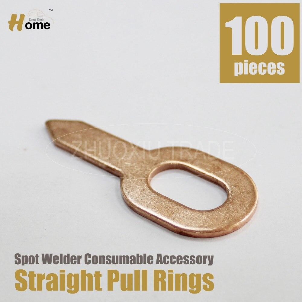 Цена за Качество Прямой кольцо шайбы Дент потянув сварочные материалы для стад спот сварщиков 100 шт. SP-100