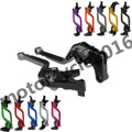 FXCNC CNC Adjustable Racing Long 10 Colors A Pair Brake Clutch Levers For Kawasaki Vulcan 800 (all variations) 1995-2006 2005