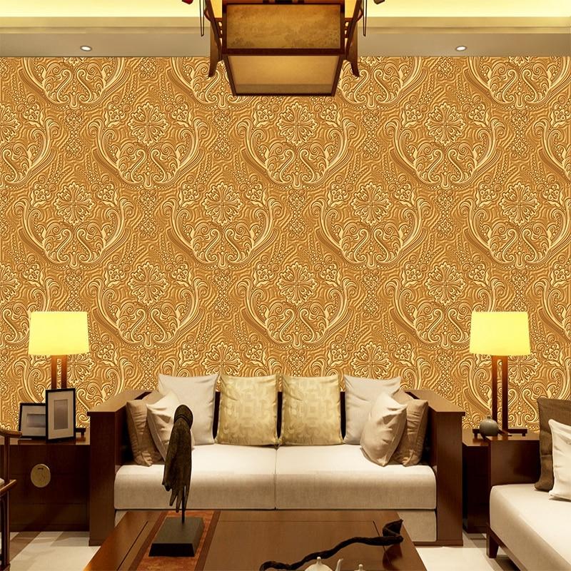 b4d74343351 Пользовательские настенные росписи Европейский Средиземноморский 3D рельеф  спальня гостиная диван ТВ Music Hall росписи обоев