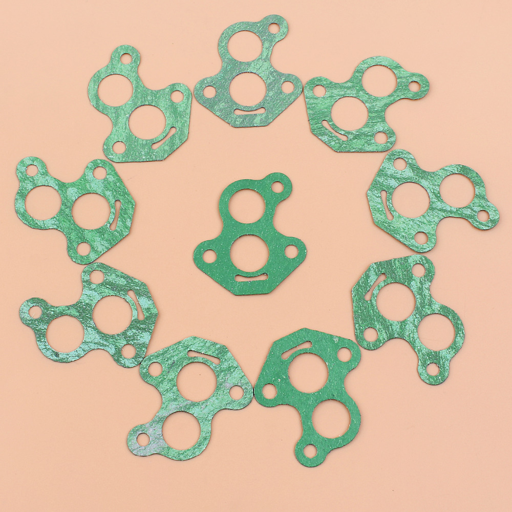 10Pcs Carburetor Gasket Fit HUSQVARNA 235 236 240 435 440 140 Jonsered CS2234 CS2238 CS2240 McCulloch CS340 CS380 CS410 Chainsaw