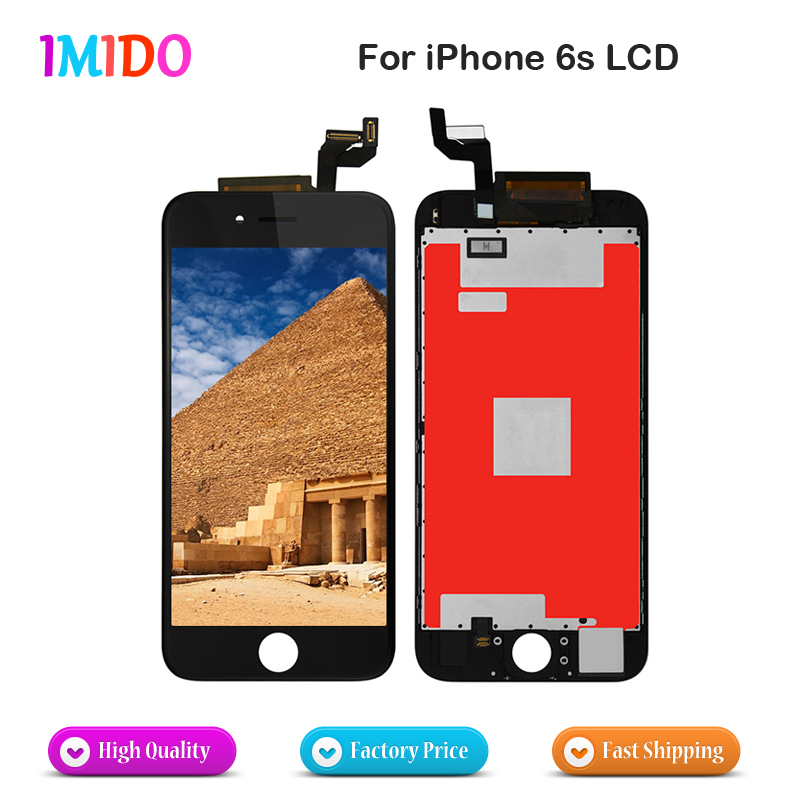 50PCS LOT AAA Quality Shenchao LCD for iPhone 6s OEM Display Digitizer Screen Assembly Replacement with