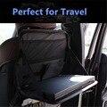 Titular laptop carro universal auto back seat organizador bandeja mesa de jantar carrinho do portátil de viagem veículo assento ipad titular bebida comida