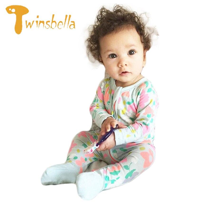 TWINSBELLA Unisex Baby Romper Clothes Winter Cute Bear Animal Overalls for Newborns Girls Fleece Jumpsuit Inverno Onesie