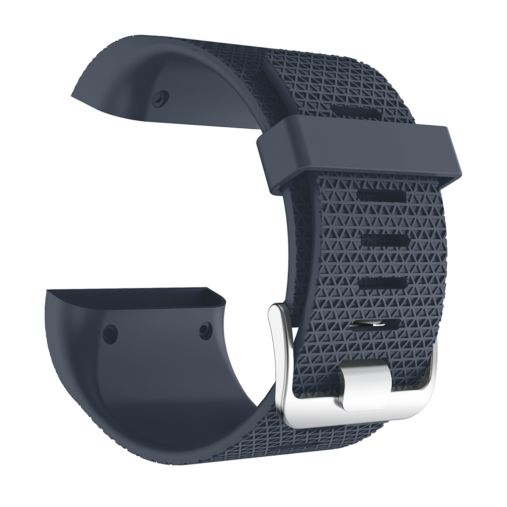 High Quality Soft Silicone For Fitbit Surge Band Wristband Strap For Fitbit Surge Bracelet Watch Band Replacement Accessories in Watchbands from Watches
