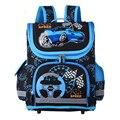 Новые 2017 Школьные сумки для Детей ЕВА Сложенный Ортопедические Сумка Дети Ранцы Для Мальчиков Паук Книга мешок Mochila Infantil