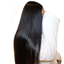 Lace Front Human Hair Wigs For Women Natural Black Pre Plucked Brazilian Straight Lace Front Wig