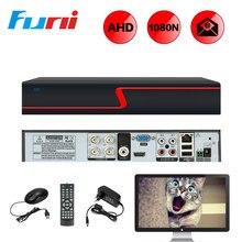 Buy Funi Digital Video Recorder 4CH 1080N AHD DVR For AHD Camera IP Camera H.264 Recorder VGA HDMI 5in1 AHD DVR P2P