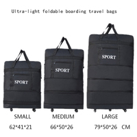 28/32inch travel Duffle waterproof suitcase folding rolling luggage travel bags/ suitcase women trolley case luggage with wheels