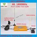 Pantalla LCD! Repetidor GSM 1800 Amplificador de Señal de Teléfono Móvil, 4G LTE GSM 1800 MHZ Repetidor de la Señal, Teléfono celular Amplificador + Antena