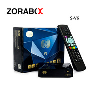 5 pcs Mini Satellite Tv Récepteur-V6 DE TV Set Top Box S V6 DVB-S2 HD AV HDMI Soutien 2 2xusb WEB TV USB Wifi 3G Biss Key Youporn