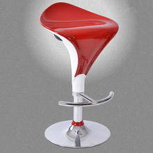 Iron Modern Bar Chairs Red