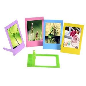 Image 5 - สำหรับFujifilm Instax Mini 9 Mini 8 ภาพวาด/Roseกระเป๋าถือPUหนังกระเป๋า + อัลบั้ม + 10 In 1 ชุด