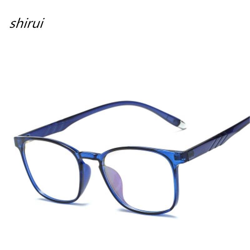 Herren-brillen Hell Unisex Anti-blau Licht Ultra Licht Tr90 Brillen Rahmen Für Frauen Retro Myopie Gläser Rahmen Klassische Frauen Optische Rahmen
