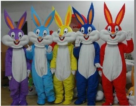 BING RUI CO NEW Bugs Bunny Dovşan Mascot Kostyum Yetkinlər üçün - Karnaval kostyumlar - Fotoqrafiya 1