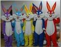 NEW Bugs Bunny Rabbit Mascot Costume Adult Character Costume Cosplay mascot costume free shipping