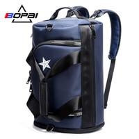 BOPAI Men Travel Backpack Bags Male Large Capacity Shoulder Travel Bags Unisex Large Rucksack Backpack for Men
