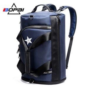 BOPAI Men Travel Backpack Bags