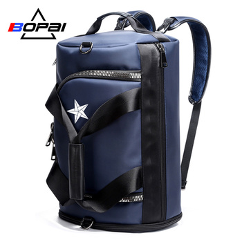 Multifunctional Men Travel Backpack Bags Male Large Capacity Shoulder Travel Bags Unisex Large Rucksack Backpack for Women new unisex backpacks pure color bags drawstring backpack large capacity schoolbag shopping travel clother storage bags 10aug 13