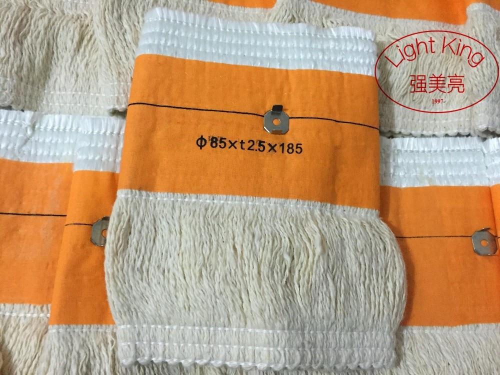 1PC 85*t2.5*185mm Kerosene Stove Wicks Containing Nails High Quality Glass Fiber + 100%Cotton Heaters Wick
