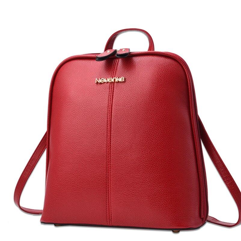 Nevenka Women Leather Backpack Tassel Female Travel Backpack Black Handle Backpacks for Girls School Bag Summer Backpacks 201810