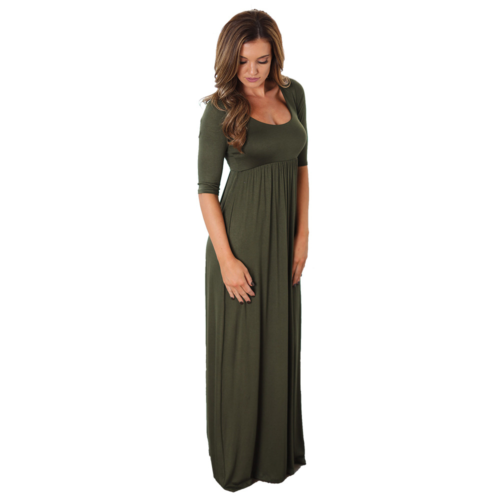 An Elegant And Sustainable Florida Home With Fantastic Views: 2017 Summer Women Long Dress 2016 Army Green Elegant Prom