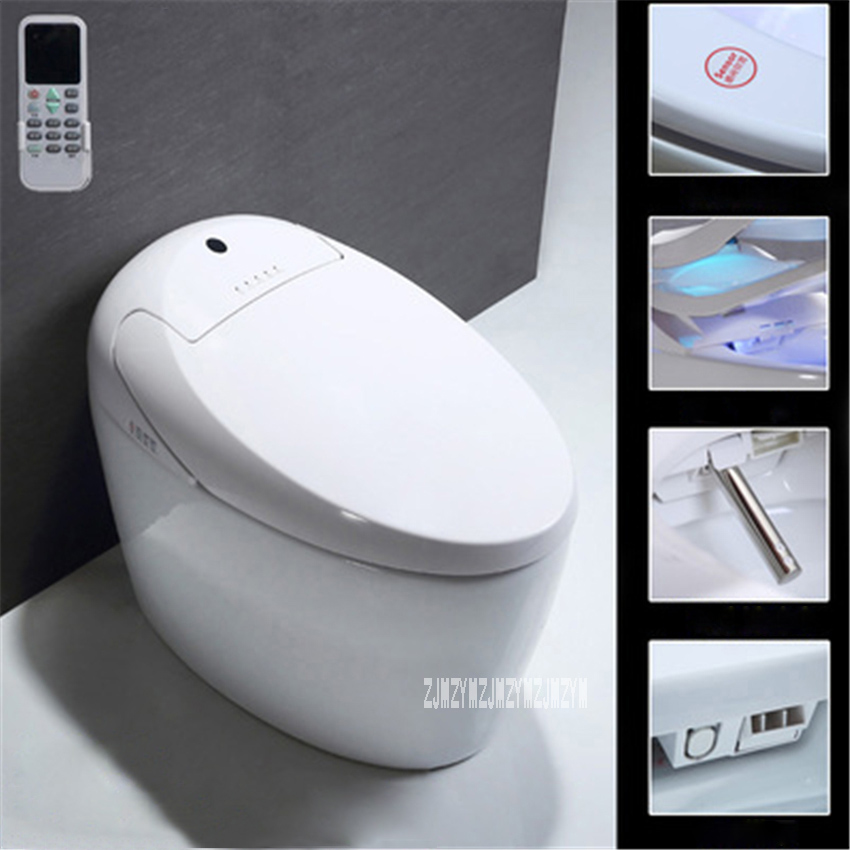 A-type Semi-automatic Smart Toilet Household Bathroom Electric Toilet Manual Flip Instant Hot Type Integrated Toilet 220V 1200WA-type Semi-automatic Smart Toilet Household Bathroom Electric Toilet Manual Flip Instant Hot Type Integrated Toilet 220V 1200W