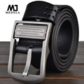 100% new cowhide genuine leather belts for men brand Strap male pin buckle fancy vintage jeans cintos