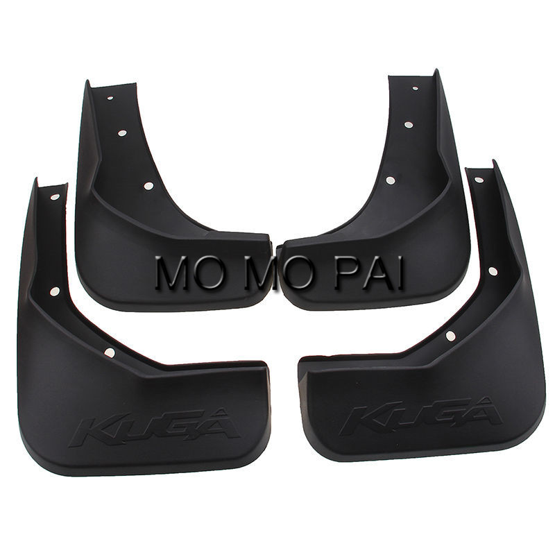Car fender FIT FOR 2013-2015 FORD ESCAPE KUGA MUD FLAP FLAPS SPLASH GUARDS MUDGUARDS 4pcs / Set MO MO PAI high quality стоимость