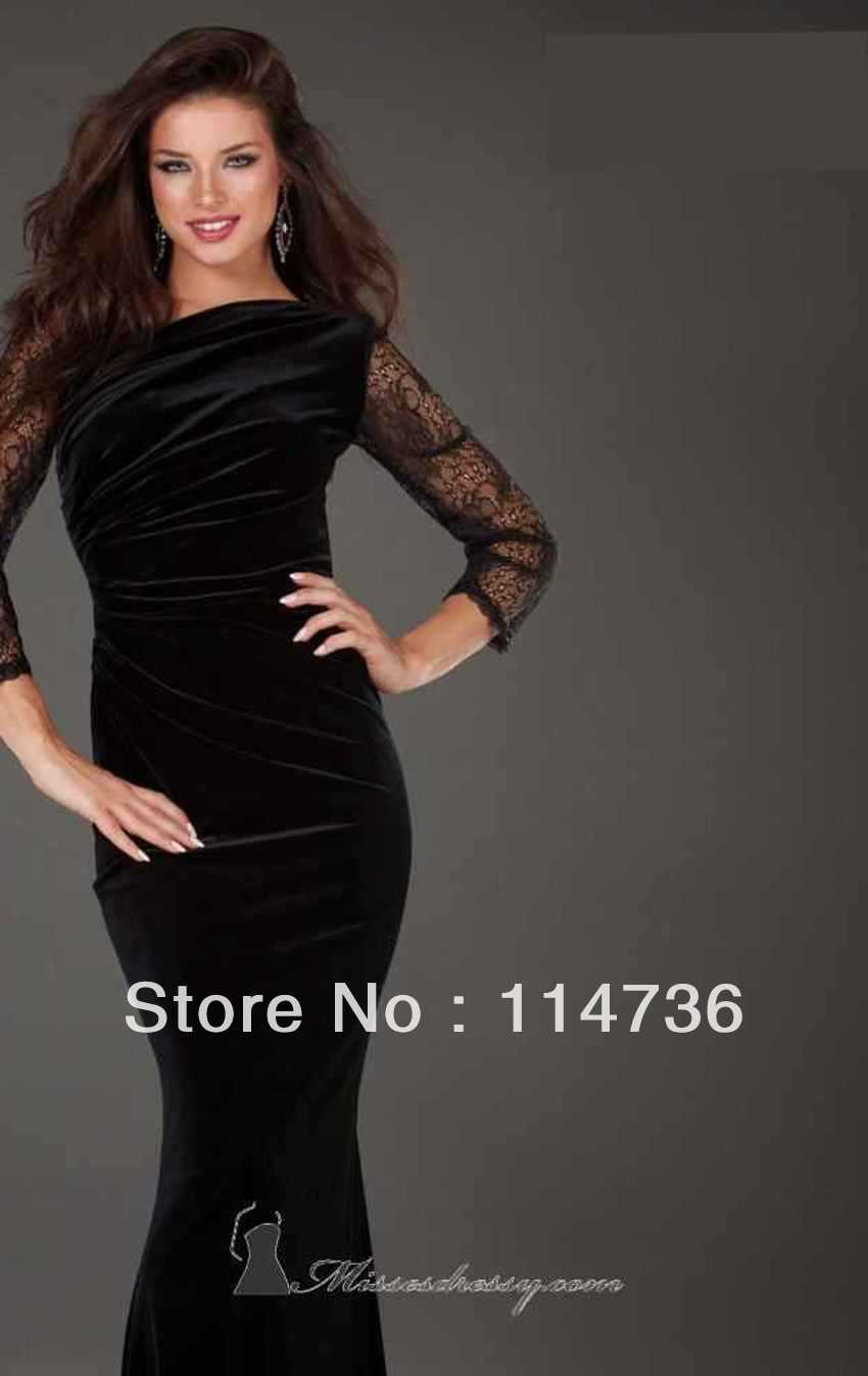Black Lace Prom Dresses 2013 - Missy Dress