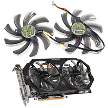 95MM T129215SM R9 270 Cooler Fan Use Para Gigabyte HD 7850 7790 Radon R9 270 GTX 670 660 650Ti 270X 560 ATI Radeon R9 200 Cartões