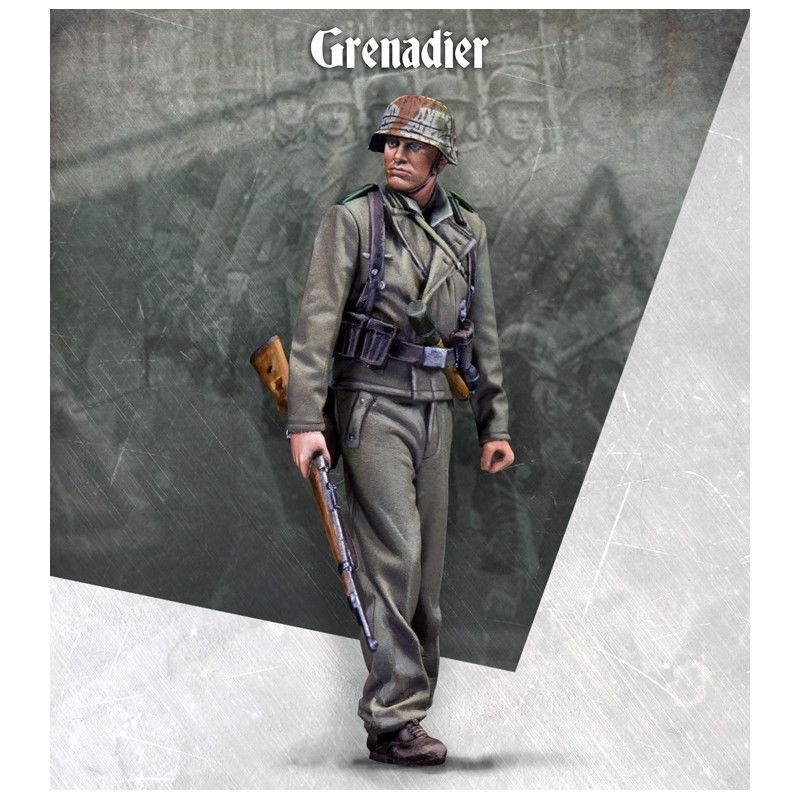 1/35 german Grenadier stand winter soldier WWII toy Resin Model Miniature Kit unassembly Unpainted
