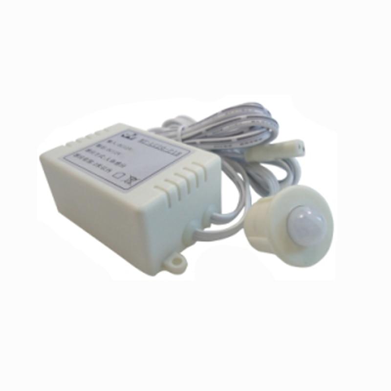 automatic PIR spilt motion Sensor Switch for led bar light led strip DC 12V 3A led night light strip smart turn on off fita de led luz waterproof smd2835 bandeau led bedroom pir motion sensor led strip light