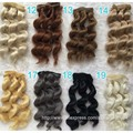 10PCS/LOT Wholesale New Arrival 15CM Curly Synthetic Doll Hair Accessories BJD Doll Wigs 1/3