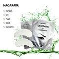 NAGARAKU 150 пар комплект, Высокое качество, безворсовой глаз гель колодки для наращивания ресниц, глаз гель патч, патчи