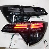 Для Honda HRV vezel светодиодный заднего легкий дым lf