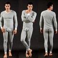 Invierno hombre térmica modal underwear cueca establece calzoncillos largos establece termo termica caliente pijamas para hombre sexy medias lange unterhosen