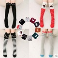 Children Socks For Girls Cute Cartoon Children Sock Print Animal Cotton Baby Kid Sock Knee High Long Fox Socks For Girl Clothing