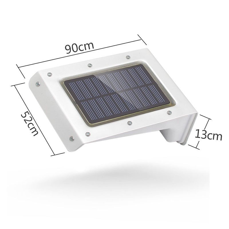 SOCO 20LEDs Solar Wall Lamp Light Waterproof Outdoor Rotatable Double Induction Control Lighting Street Lights for Garden Yard