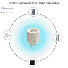 Wifi Smart Power Plug EU Outlet Sockets Remote Voice/APP Control Timing Function Homekit Works with Amazon Alexa Google Home(China)