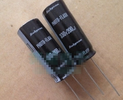 Niski esr 330v 200uf kondensator lampy błyskowej 16*40mm