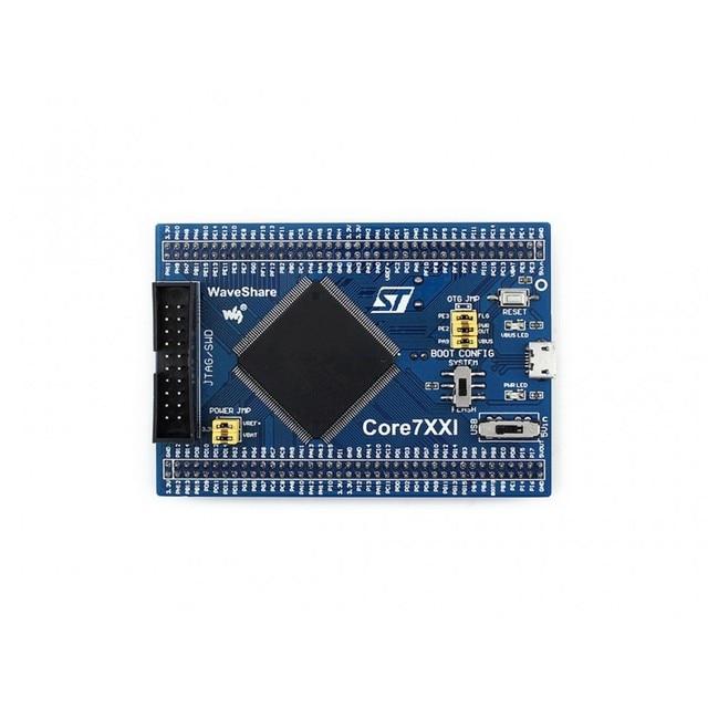 Placa de núcleo de stm32 core746i projetado para stm32f746igt6 com o expansor completo de io jtag/swd debug interface a bordo 64 m bit sdram