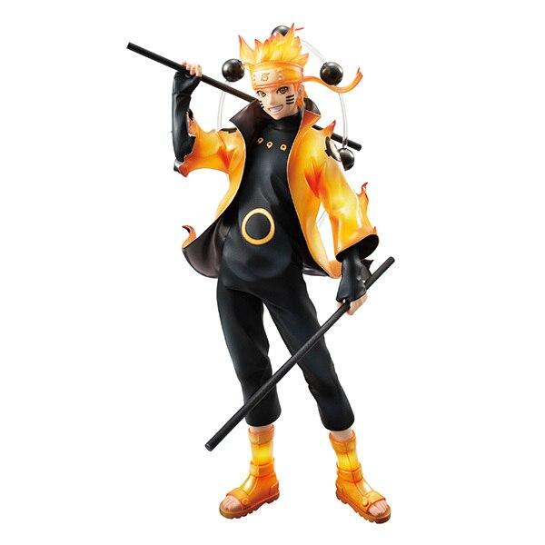 Naruto figures Rikudousennin Modo Uzumaki Naruto Figure Toy 18CM naruto shippuden action figures Naruto Kyuubi Doll D16 1